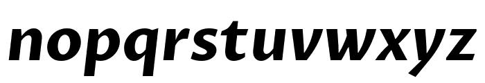 Proza Libre Bold Italic Font LOWERCASE