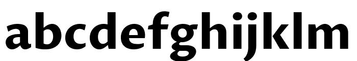 Proza Libre Bold Font LOWERCASE