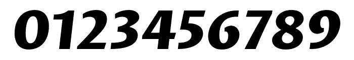 Proza Libre ExtraBold Italic Font OTHER CHARS