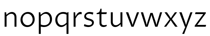 Proza Libre Light Font LOWERCASE