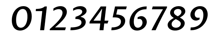 Proza Libre Medium Italic Font OTHER CHARS