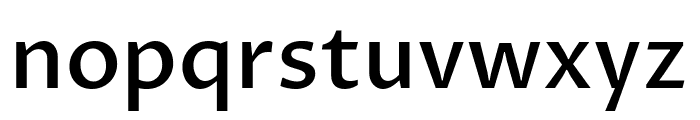 Proza Libre Medium Font LOWERCASE