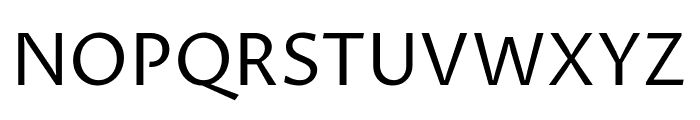 Proza Libre Regular Font UPPERCASE