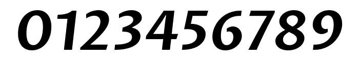 Proza Libre SemiBold Italic Font OTHER CHARS