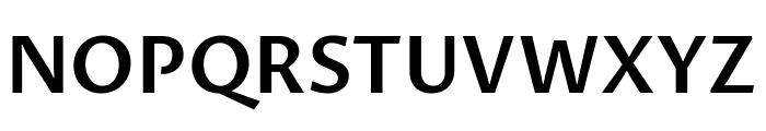 Proza Libre SemiBold Font UPPERCASE