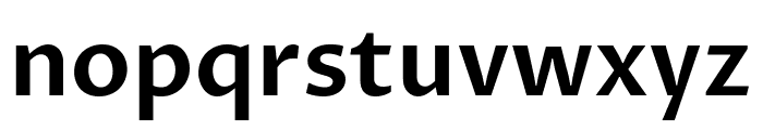 Proza Libre SemiBold Font LOWERCASE