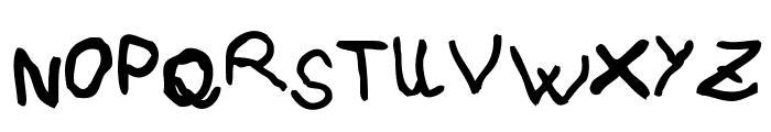 pree-school Font UPPERCASE