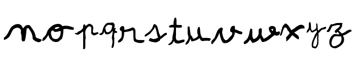 pree-school Font LOWERCASE