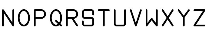 proportional tfb Font UPPERCASE