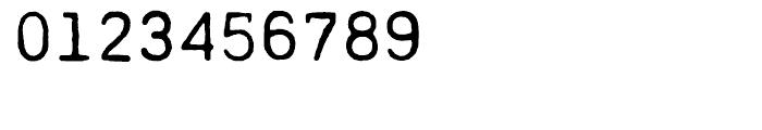 PRINTF Regular Font OTHER CHARS