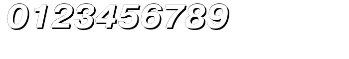 Pragmatica Shadow Italic Font OTHER CHARS