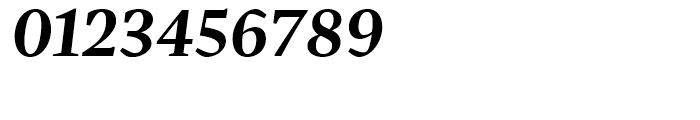 Pratt Nova Bold Italic Font OTHER CHARS