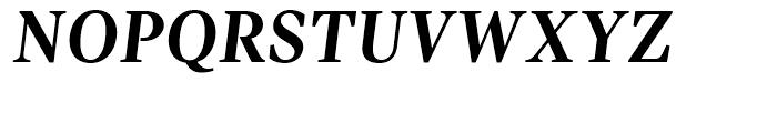 Pratt Nova Bold Italic Font UPPERCASE