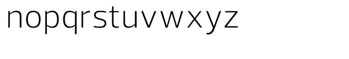 Prelo Light Font LOWERCASE