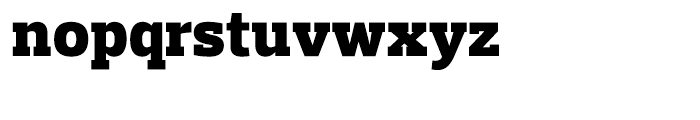 Prelo Slab Black Font LOWERCASE