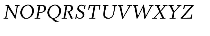 Prensa BookItalic Font UPPERCASE