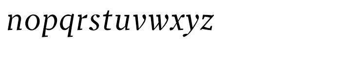 Prensa BookItalic Font LOWERCASE