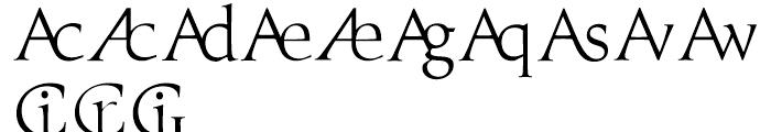 Prestige E Light Font UPPERCASE