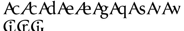 Prestige E Normal Font UPPERCASE