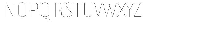 Prevya Display Light Font UPPERCASE