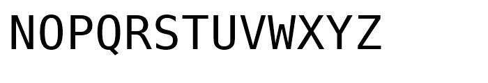 Prima Sans Mono Roman Font UPPERCASE