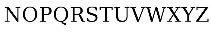 Prima Serif Roman Font UPPERCASE