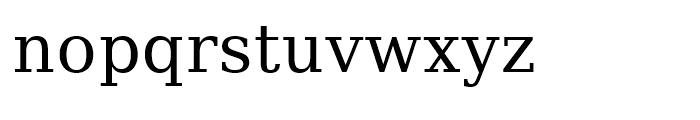 Prima Serif Roman Font LOWERCASE