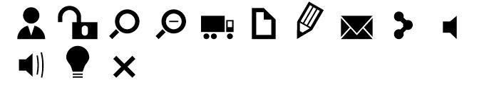 Primitive Icons Regular Font LOWERCASE