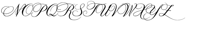 Prints Charming Version Regular Font UPPERCASE