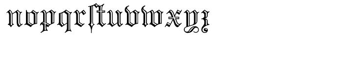Prinzess Gravur Regular Font LOWERCASE