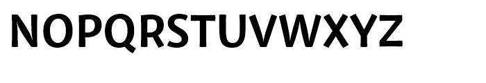 Private Sans Bold Font UPPERCASE