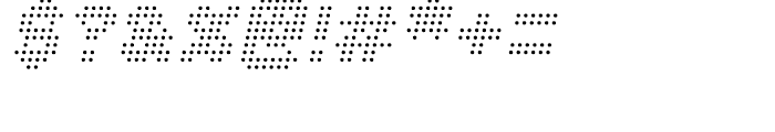 Procyon Italic Font OTHER CHARS