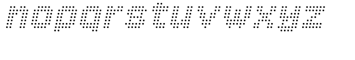 Procyon Italic Font LOWERCASE