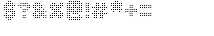 Procyon Regular Font OTHER CHARS