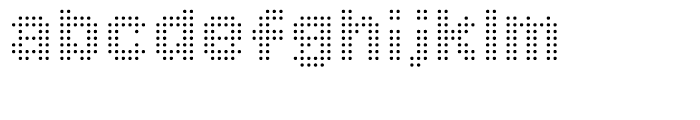 Procyon Regular Font LOWERCASE