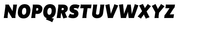 Productus Black Italic Font UPPERCASE