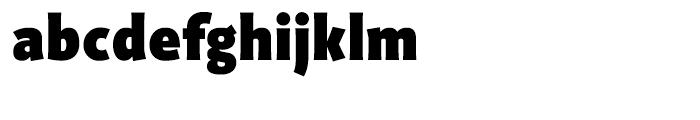 Productus Black Font LOWERCASE