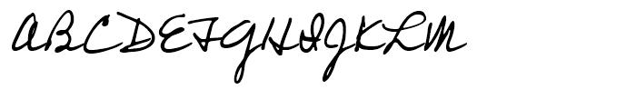 Professor Regular Font UPPERCASE