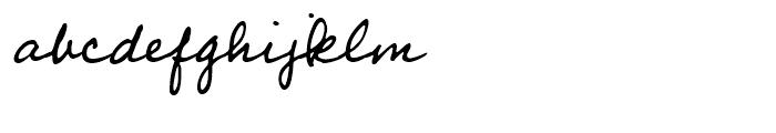 Professor Regular Font LOWERCASE