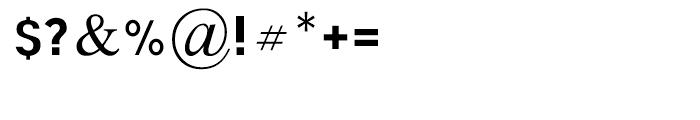 Programa Regular Font OTHER CHARS