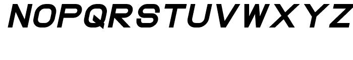 ProtoFet Heavy Italic Font UPPERCASE