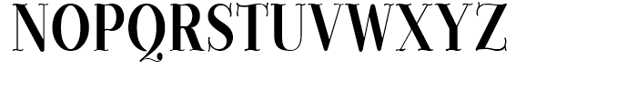 Provincial Solid Font UPPERCASE