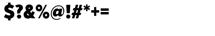 Proxima Nova Condensed Black Font OTHER CHARS