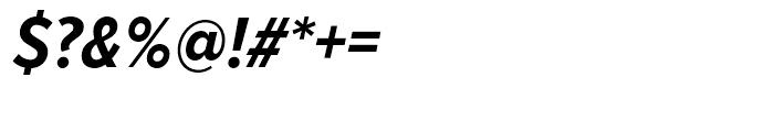 Proxima Nova Condensed Bold Italic Font OTHER CHARS