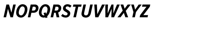 Proxima Nova Condensed Bold Italic Font UPPERCASE