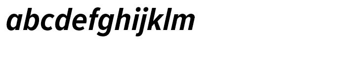 Proxima Nova Condensed Bold Italic Font LOWERCASE