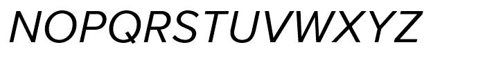 Proxima Nova Regular Italic Font UPPERCASE