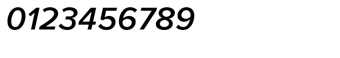 Proxima Nova Semibold Italic Font OTHER CHARS