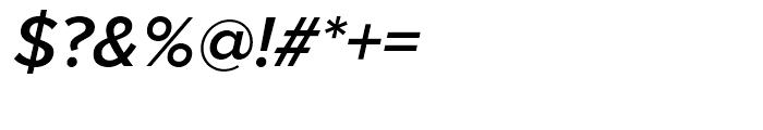 Proxima Nova Semibold Italic Font