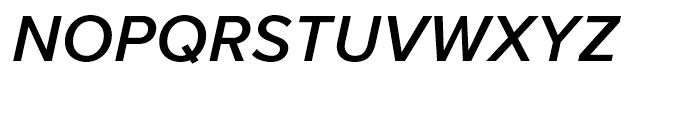 Proxima Nova Semibold Italic Font UPPERCASE